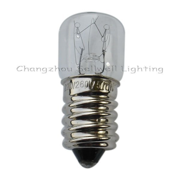 Miniature Lamp Bulbs Lighting E14 16x40 220v 5/7w A085
