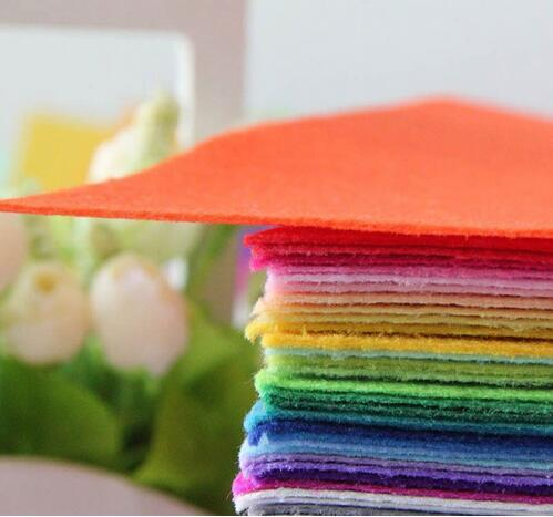 30CMX30CM 1 MM Thick Wool Felt Fabric,Needle Felt,Non-woven Felt,Handmade Fabric DIY Cloth