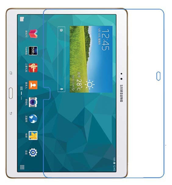 Clear Glossy Screen Protector Protective Film for Samsung Galaxy Tab S 10.5 T800 T801 T805 SM-T800 Tablet + Alcohol Cloth