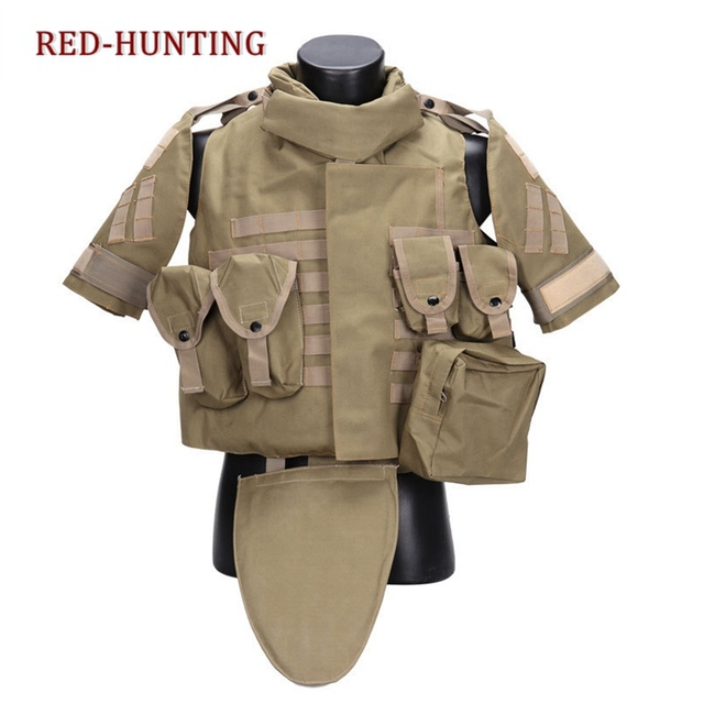 Hot Sale US Army Military Tactical Airsoft Paintball OTV Combat Vest Multi Colors