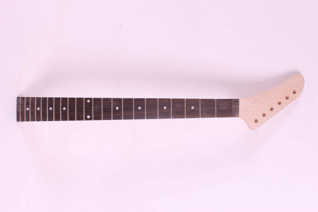 22#  unfinished electric guitar neck mahogany   made and rosewood  fingerboard Bolt on 22 fret