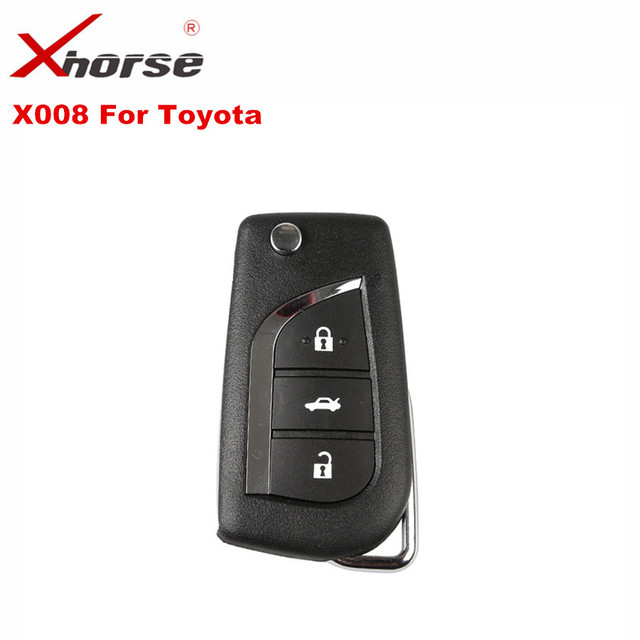 XHORSE VVDI2 For Toyota Universal Remote Key 3 Buttons Xhorse Wire Remote Key X008