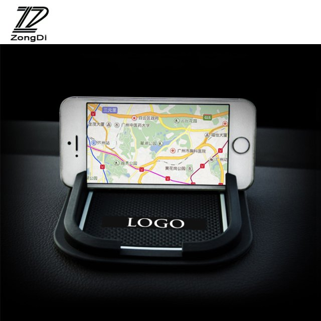 ZD 1Pc Car Non-slip Mat phone stand Stickers Styling For Honda CRV CR-V XRV Vezel 2016 2010 2011 2013 2014 2015 XR-V Accessories