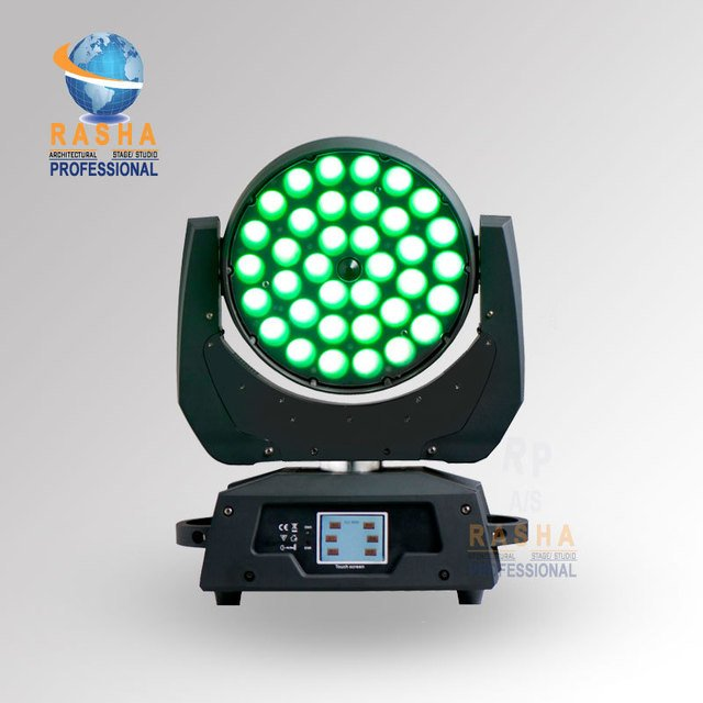 Wholesale Price High Quality 36pcs*12W 4in1 Zoom RGBA/RGBW LED Moving Head Light with optical Zoom Stage Moving Head Light