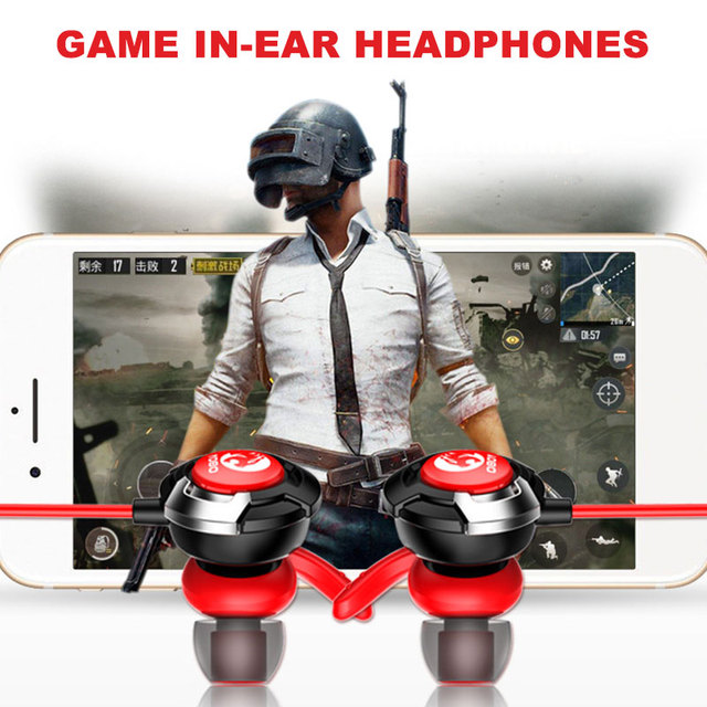 Portable Headset Noise Isolation Dynamic Earphone Stereo Fashion Headphone Webcasting