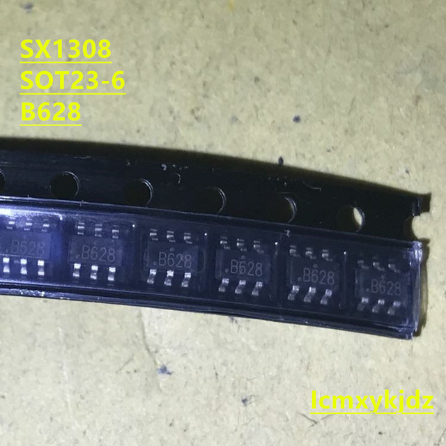 10Pcs/Lot ,  SX1308 B628 2A  SOT23-6 DC-DC ,New Oiginal Product New original free shipping fast delivery