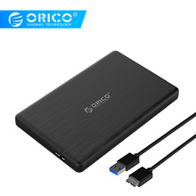 ORICO 2.5 Inch HDD Enclosure SATA to USB3.0 Micro B External Hard Drive Disk Enclosure Case for 7mm SSD Support UASP for WD
