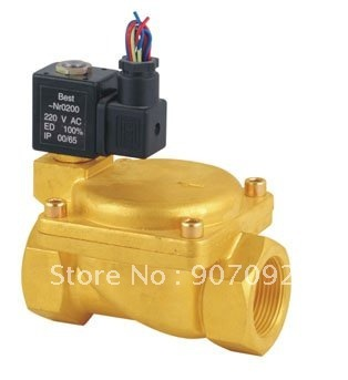 DIN Standards 0927500 2/2 Way Brass Diaphragm Control Electric Valve Normally Closed Hot Sale