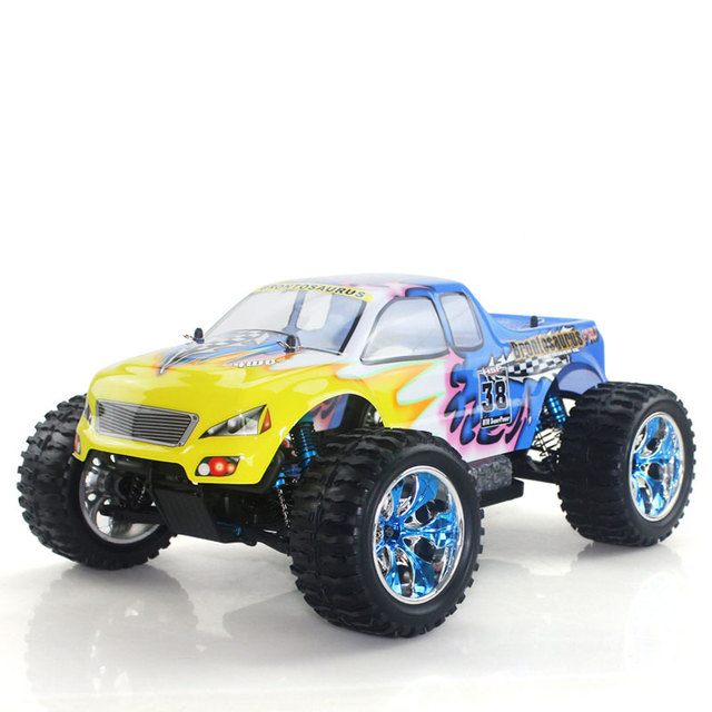 SGEMS Free shipping HSP 4wd 2.4G Remote Control Toys 1/10 Powered Rally car 94111PRO RC Car