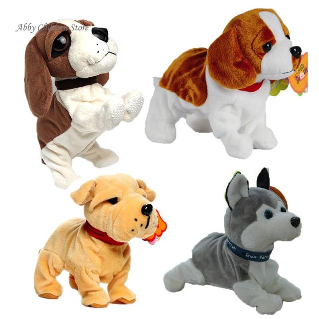 Electronic Dogs Robot Dog Sound Control Interactive Electronic Pets Bark Stand Walk Electronic Toys Dog Interactive Toys