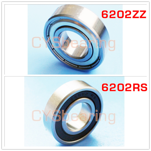6202RS S6202ZZ S6202RS stainless steel ball bearing 6202ZZ 15*35*11 mm SUS440 304 POM plastic si3n4 ceramic non magnetic