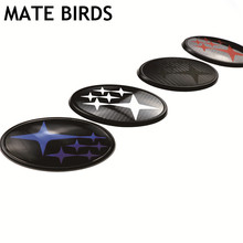 MATE BIRDS Subaru Modified Logo Forest Human Lion XV Impreza WRX STI BRZ Acrylic Carbon Fiber Before And After The Standard