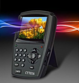 """Original 3.5"""" LCD portable Digital Satellite Finder CY 70356 Signal Finder Meter with retail packing + free shipping"""