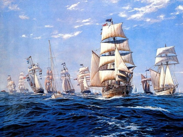 Free shipping big size wall gobelin tapestries,nautical style picture,Wall hanging art picture