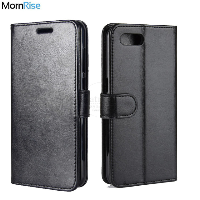 New Luxury Retro Leather Book Flip Folio Cover For OPPO A5 Case Wallet Stand Card Slot Photo Holder Mobile Phone Bags