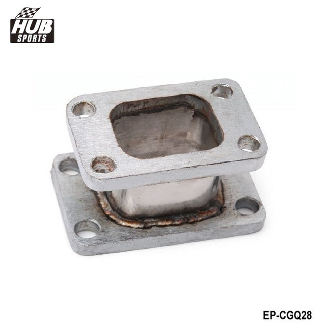 T3-T25 TURBO/CHARGER/MANIFOLD EXHAUST CAST FLANGE ADAPTER TURBINE CONVERSION HU-CGQ28