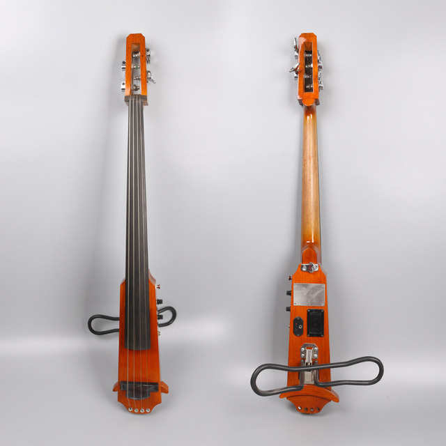 4 string 4/4 New Electric Cello Silent Powerful Sound Ebony Part Top Grade  you can choose color  i can make for you