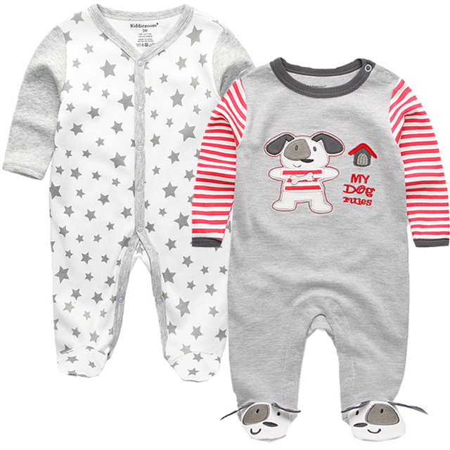 New 2020 cute baby rompers jumpsuit comfortable clothing for new born babies 0-12m baby wear , newborn baby clothing