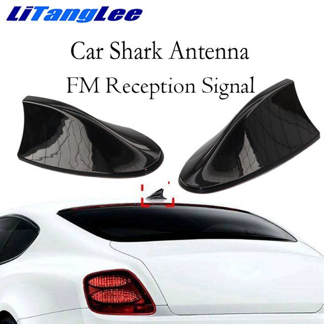 Litanglee Car Shark Fin Antenna Decoration FM Signal Car Radio Aerials For Volvo 850 S70 V70 240 260 740 940 S80 V70 960 S90 V90