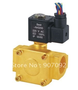 Free Shipping 1/4'' Port Size 0927000 Normally Closed 2/2 Way Diaphragms Solenoid Valves 5pcs In Lot