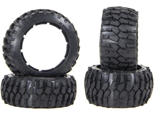 Strong grip and strong wear resistance Gravel pattern off-road tires for HPI KM ROVAN BAJA 5B