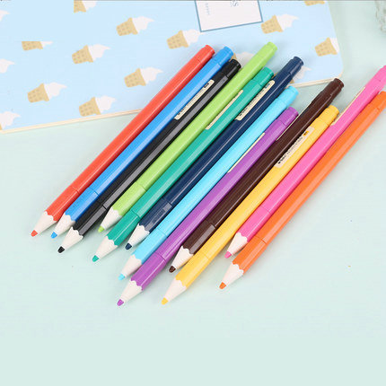 12 Color Pen Set 0.35mm Fine Point Color Gel Pens School And Office