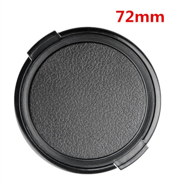72mm Camera Lens Cap Protection Cover Lens Front Cap for Canon Nikon Sony 72mm DSLR