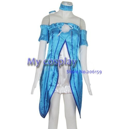 Tales of the Abyss Natalia Luzu Female Cosplay Costume Female costume Halloween Costumes Women Dress-- Freeshipping