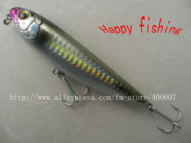 Plastic Pencil Fishing Lure(Pe105F) Enjoy Retail Convenience at Wholesale Price