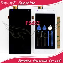 Tested LCD Display Screen For Fly FS452 LCD With Touch Panel Digitizer Screen Assembly