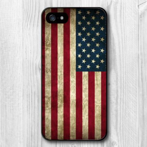 Newest 2016 US American Flag Vintage Retro Protection Hard Cover Case for iphone 4/4s/5/5s/5c/6/6s/6plus/6s plus