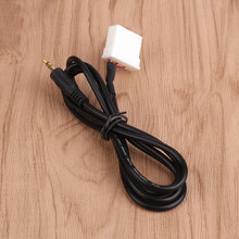 Car 3.5mm Cable Cord AUX Audio CD Adapter For Mazda 3 Data Lead CD Player