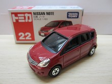 Tomy Tomica  #22  Nissan NOTE alloy car toy car model