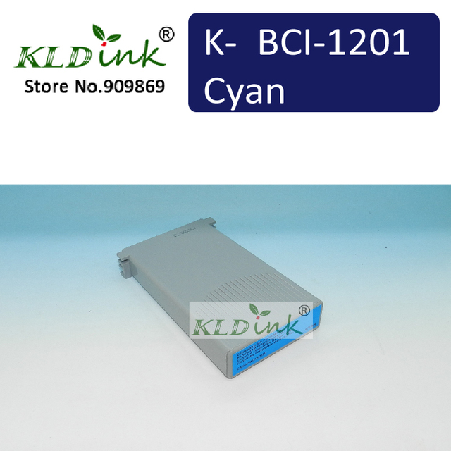 7338A001 / BCI-1201C Cyan Ink Tank  - Compatible with 1000N, 2000N printer