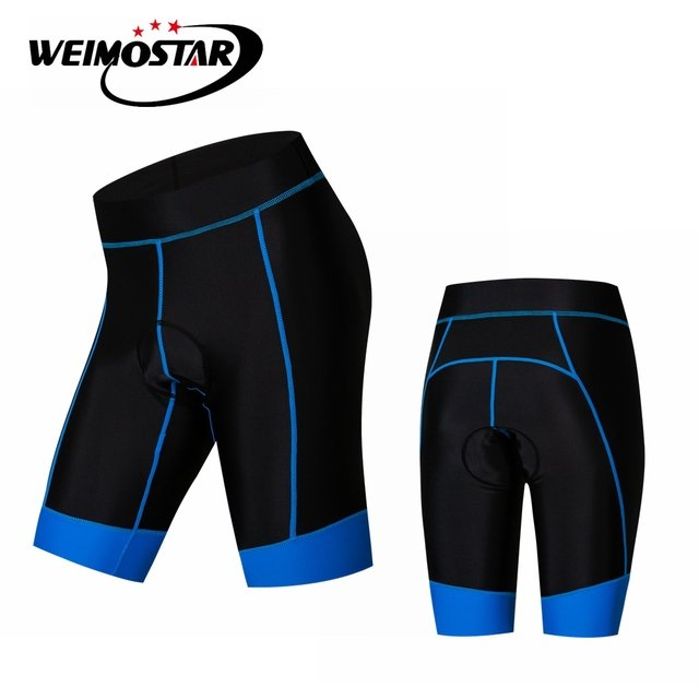 Weimostar Pink Cycling Shorts Women mountain Bike Dress Bicycle Silicone Padded Shorts Girl MTB Bottom road Sports maillot Blue