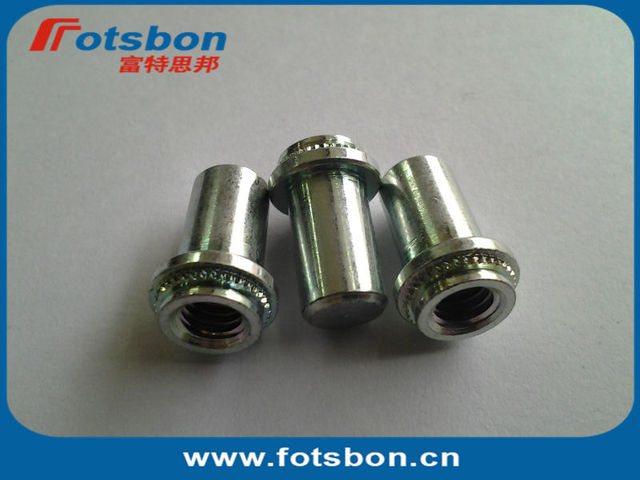 BS-M6-2  Blind press-in Nut, SUS 303,  in stock, Self-clinching nuts,