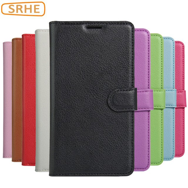 Vodafone Smart V8 Case Flip Luxury Wallet PU Leather TPU Silicon Kickstand Cover For  Vodafone Smart V8 VFD 710 With Magnet