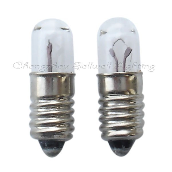 E5 T4.7x16 3.8v 1w Miniature Lamp Light Bulb A247