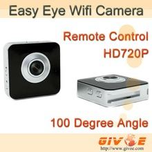 Easy Eye Wifi  Security Mini Camera CCTV System With 30FPS + Remote Control + Internet Live Video CPAM IP Camera Free Shipping