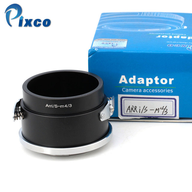 PIXCO For ARRi/S-Micro 4/3 lens adapter suit for Arriflex Arri S Mount Cine Lens To Micro 4/3 GX1 GF3 EPM1 PL3