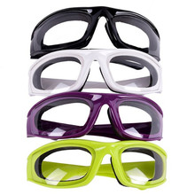 1PC kitchen gadgets Accessories vegetable cutter Onion Goggles Barbecue Safety Glasses Eyes Protector Face Shields Cooking Tools