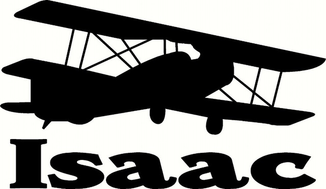 Free Shipping Custom Vinyl Wall Decal Plane with Personalized Name for Bedroom Wall Sticker Kids Boys Room Art Decoration