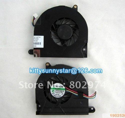 Notebook CPU Cooler Fan For HP8530P  Fans SUNON GB0507PGV1-A 5V 1.6W Laptop Cooling Fan