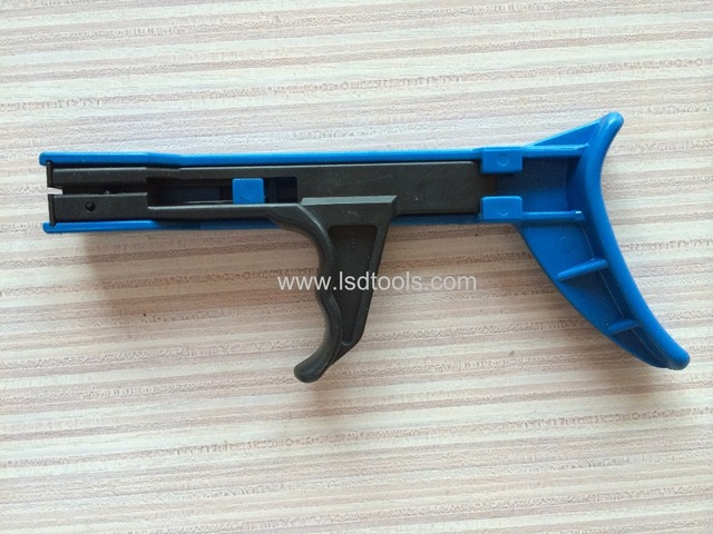 Fastening and cutting tool special Cable Tie Gun For Nylon Cable Tie width: 2.4-4.8mm TG-100