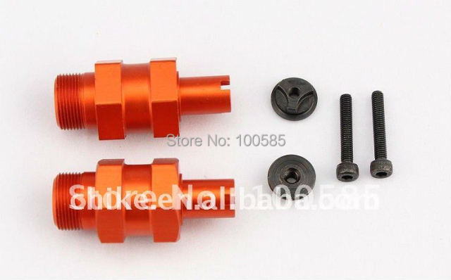 1/5 CNC baja 5SC Alloy Extended Axles wheel axle - Rear for 1/5 scale HPI BAJA 95144