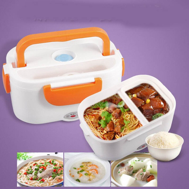 Electric Portable Heated Lunch Box heater 40W 220V Heating Truck Oven Cooker Food Warmer Compact Car Truck Stove Oven containers