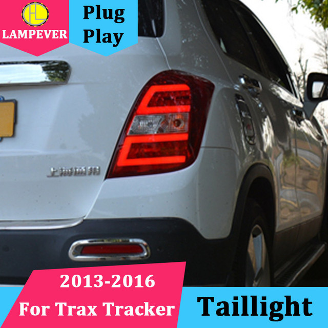 Taillight for Chevrolet Tracker Taillights 2013 2014 2015 2016 Trax LED Tail Lamp Rear Lamp DRL+Brake+Park+Signal led back light