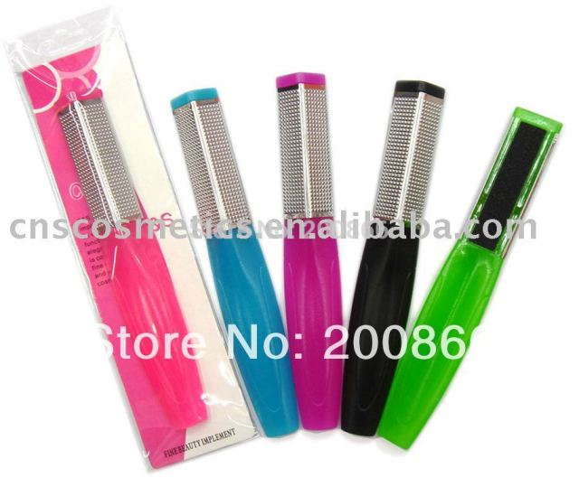 Factory directly seller-- beautful Foot scrub/foot file(manicure pedicure care file) with nice packing