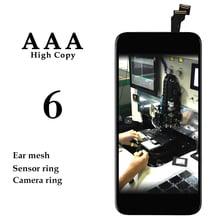 20pcs For iPhone 6 6G LCD Touch Screen Panel 4.7'' Black White Display Digitizer Assembly Phone Patalla Replacement Spare Parts