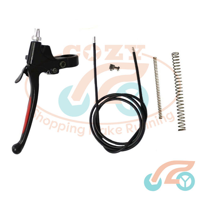 Clutch Lever, Cable, Springs + Lock For 49cc 66cc 80cc Motorized Bicycle Bike